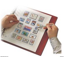 Albums Préimprimés Safe-dual France / 2001 PAGE 184 à 188 - Afgedrukte Pagina's