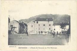 Cpa 48 – Meyrueis – L'Ecole Des Garçons Au Pré Nouveau - Meyrueis