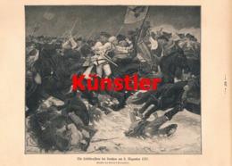 1752 Kaempffer Leibkürassiere Leuthen 1757 Soldaten Druck 1910 !! - Documents