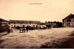 27 - SUPERBE CPA VILLIERS EN DESOEUVRE - FERME DE Mr MOULARD - ADHERENTE A LA SCVC - VOIR PHOTO ET NOTICE - ETAT EXC - - Francia
