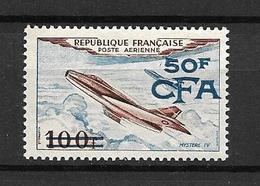 REUNION  CFA  1954 Poste Aérienne  N° 52  NEUF - Airmail