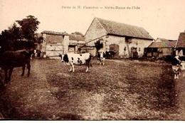 27 - BELLE CPA NOTRE DAME DE L'ISLE - FERME DE Mr FLAMICHON - ADHERENT A LA SCVC - VOIR PHOTO ET NOTICE - ETAT EXC - - Francia
