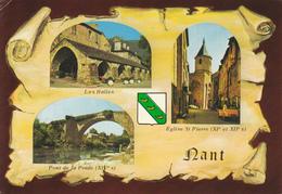 12 NANT- 3 VUES SUR PARCHEMIN - BLASON - Frankreich