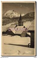 CPA Montgenevre L'Eglise - France