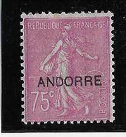 Andorre N°17 - Neuf * Avec Charnière - B/TB - Neufs
