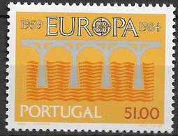 1984 Portugal  Mi1630 **MNH Europa: 25 Jahre Europäische Konferenz Der Verwaltungen Für Das Post- Und Fernmeldewes - Unused Stamps