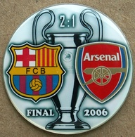 Pin Champions League UEFA Final 2006 Barcelona Vs Arsenal London - Fútbol