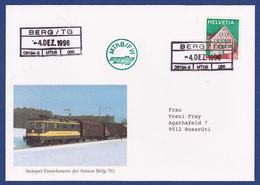 Bahnhofsstempel Berg TG MThB (br8922) - Railway