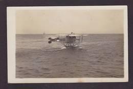 CPA Aviation Hydravion Avion Carte Photo RPPC Belgique Circulé - ....-1914: Precursores