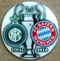 Pin Champions League UEFA Final 2010 Internazionale Milan Vs Bayern Munchen - Fútbol