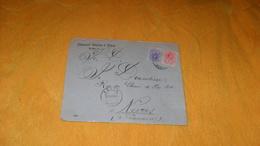 ENVELOPPE ANCIENNE DE 1910.../ PASCUAL GARCIA E HIJOS YECLA ESPAGNE POUR NEVERS FRANCE..CACHETS + TIMBRES X2 - 1889-1931 Royaume: Alphonse XIII