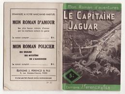 MON ROMAN D'AVENTURES N°27 LE CAPITAINE JAGUAR De MAURICE D'ESCRIGNELLES 1946 Ferenczi - Aventure