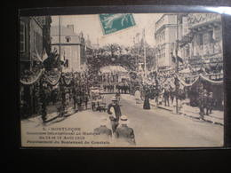 Concours International De Musique 1910 Boulevard De Courtais - Montlucon