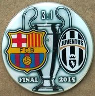 Pin Champions League UEFA Final 2015 Barcelona Vs Juventus Torino - Fútbol