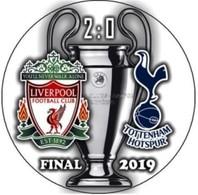 Pin Champions League UEFA Final 2019 Liverpool Vs Tottenham Hotspur London - Fútbol