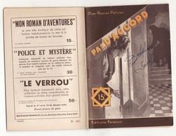 MON ROMAN POLICIER N°433 PAS D'ACCORD De RAOUL BORJACK 1956 Ferenczi - Ferenczi