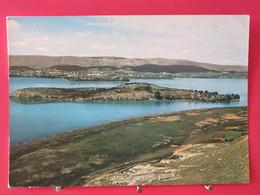 Visuel Très Peu Courant - Grèce - Jannina - L'îlot Du Lac Et La Ville - Recto Verso - Greece