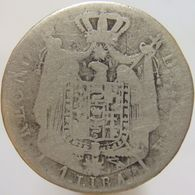 LaZooRo: Italy 1 Lira 1808 M G Scarce - Silver - Monedas Regionales