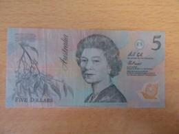 Australie - Billet 5 Australian Dollars Queen Elizabeth - Decimal Government Issues 1966-...