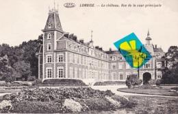 LOMBISE - Le Château, Vue De La Cour Principale - Carte Circulé - Lens