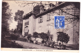 Paix 368 Sur CP De Vinzelles (1939) - France