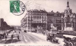 GENEVE  -   Le Monument De Brunswick Et Le Quai Du Mont Blanc - GE Geneva