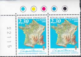 Cinquantenaire Institut Géographique National - France