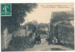 AUVERS SUR OISE - La Rue De L'Héry - Auvers Sur Oise