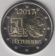 @Y@   Luxemburg    2  Euro  2017  Commemorative  UNC - Luxembourg
