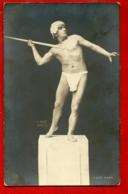 SEMI NUDE MAN VINTAGE PHOTO POSTCARD 59 - Bellezza Maschile Di Altri Tempi < 1945