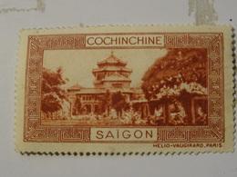 FRANCE COLONIES  Vignette COCHINCHINE - Commemorative Labels