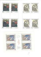 REPUBBLICA CECA 1994 - ARTE  - 3 MINIFOGLI MNH ** - Czech Republic