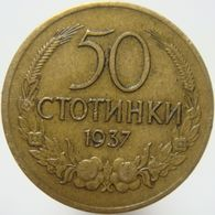 LaZooRo: Bulgaria 50 Hundred 1937 VF / XF - Bulgarie