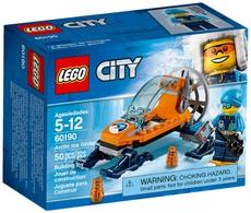 Lego City - L'AÉROGLISSEUR ARCTIQUE Arctic Ice Glider Réf. 60190 Neuf - Lego