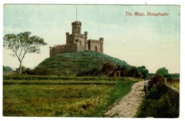 Ref 1340 - Early Postcard - The Castle & Moat Donaghadee - County Down Ireland - Down