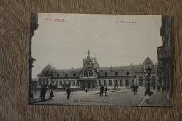 Binche Cpa Pk Place De La Gare Station - Binche