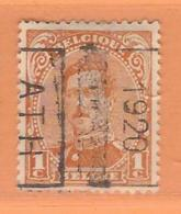 COB 135 Préoblitéré Type I  Position B  (used) ATH 1920 - Vorfrankiert