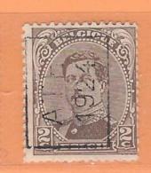 COB 136 Préoblitéré Type I  Position A  (used) ATH 1924 - Vorfrankiert