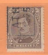 COB 136 Préoblitéré Type I  Position A  (used) ATH 1925 - Vorfrankiert