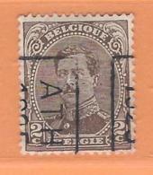 COB 136 Préoblitéré Type I  Position B  (used) ATH 1925 - Vorfrankiert