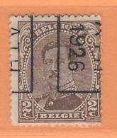 COB 136 Préoblitéré Type I  Position B  (used) ATH 1926 - Vorfrankiert