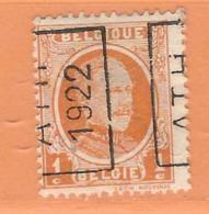 COB 190 Préoblitéré   Position A  (used) ATH 1922 - Vorfrankiert
