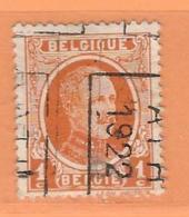 COB 190 Préoblitéré   Position B  (used) ATH 1922 - Vorfrankiert