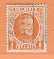 COB 190 Préoblitéré   Position B  (used) ATH 1923 - Vorfrankiert