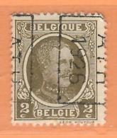 COB 191 Préoblitéré   Position B  (used) ATH 1926 - Vorfrankiert