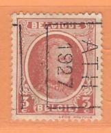 COB 192 Préoblitéré   Position B  (used) ATH 1927 - Vorfrankiert