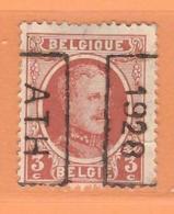 COB 192 Préoblitéré   Position B  (used) ATH 1928 - Vorfrankiert