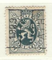 COB 279 Préoblitéré   Position A  (used) ATH 1929 - Vorfrankiert