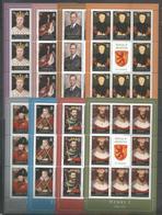 8x SOLOMON ISLANDS - MNH - Art - Famous People - History - Arte