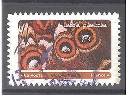 France Autoadhésif Oblitéré (Effets Papillons 5 - Morpho Hecuba) (cachet Rond) - Francia